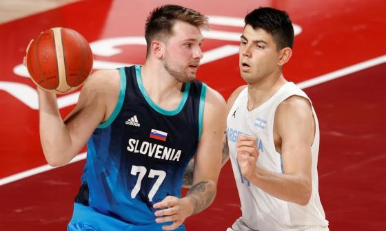 Luka Doncic encaminó la victoria de Eslovenia en los Juegos Olímpicos de Tokio