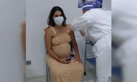 261 gestantes fueron vacunadas contra la covid-19 en Santa Marta