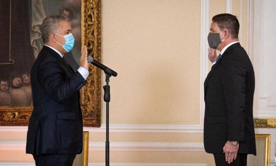 Juan Carlos Pinzón asume como embajador de Colombia en EE. UU.