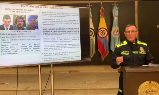 Gobierno solicita circular roja para alias John Mechas y recompensa de $600 millones