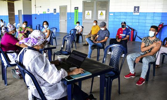 Casos de covid-19 en Colombia el 27 de julio de 2021
