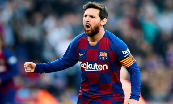 Messi ya está en Barcelona