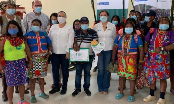 Conforman nuevo resguardo indígena en el sur de Córdoba