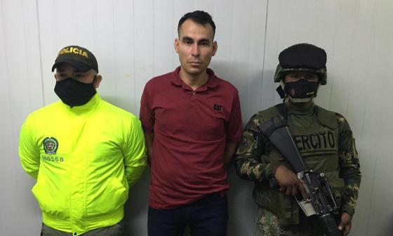 Cae 'Laín' miembro del Eln cuando ingresaba al país proveniente de Venezuela