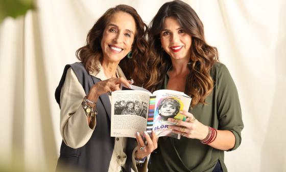 Homenaje a Gloria Valencia en Colombiamoda
