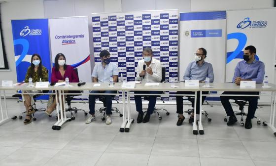 """""""Esta es una gran oportunidad para la creación de empleo joven"""": Pumarejo"""