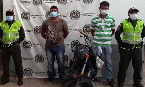 Capturados dos hombres por presunto homicidio en Pivijay, Magdalena