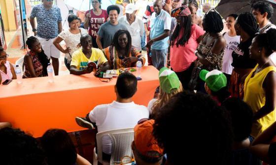 Duque anuncia Conpes para proyectos sostenibles a población afro