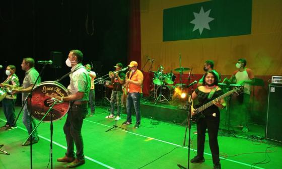 Con concierto en el teatro Adolfo Mejía rinden homenaje a la cartageneidad