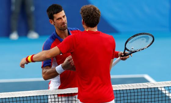 """""""Así son los deportes...he dado todo, lo que fuera que quedara"""": Novak Djokovic"""