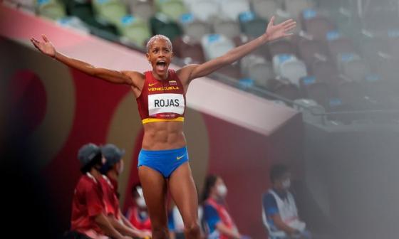 Yulimar Rojas, campeona olímpica con récord mundial