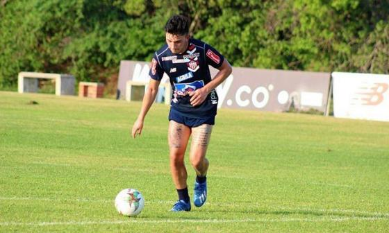 Fabián Ángel fue convocado a la Selección Colombia Sub-20
