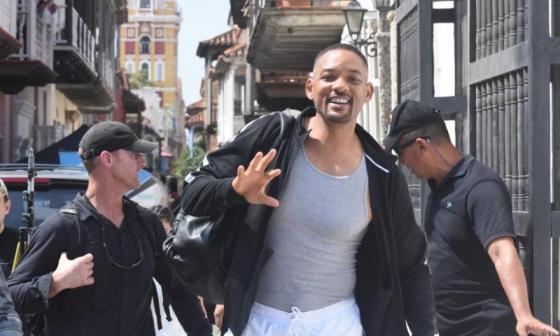 """""""Dinero que dejó rodaje de Will Smith no era para vendedores"""": Productora"""