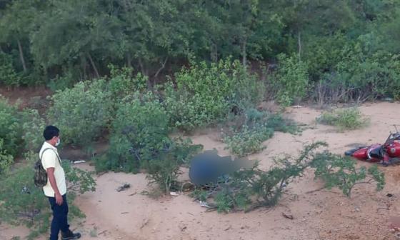 Un muerto y un herido en accidente cerca de Uribia