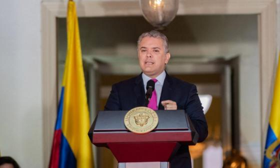 Presidente Iván Duque sanciona ley del abanderamiento