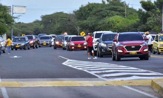 Inician campaña educativa para peatones en puntos de mayor accidentalidad