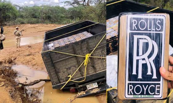 Decomisan 658 kilos de cocaína en la Alta Guajira
