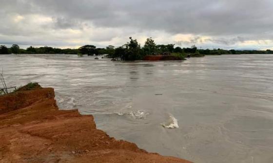 Emergencia en la Mojana: río Cauca rompió boquete en la zona de Cara e