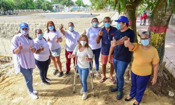 Obras del mega parque del sur de Malambo se entregarían en Navidad