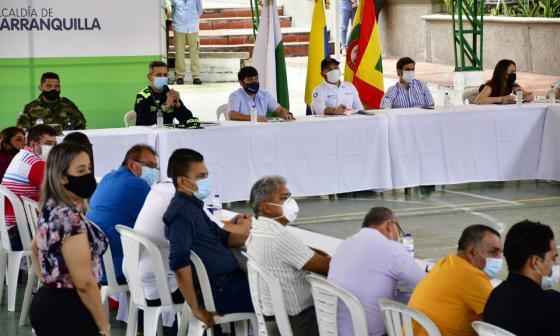 Alcalde Pumarejo presenta en Barranquilla el Gran pacto contra el atraco