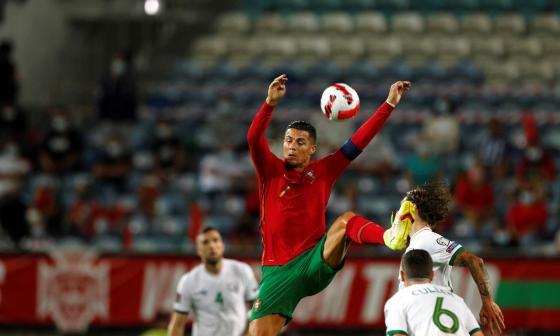 Un Cristiano de récord salva a Portugal