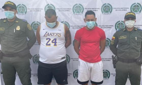Capturan a dos hombres por tentativa de homicidio en Sabanalarga