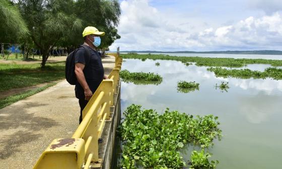 Alerta en La Peña por posible desbordamiento del embalse El Guájaro