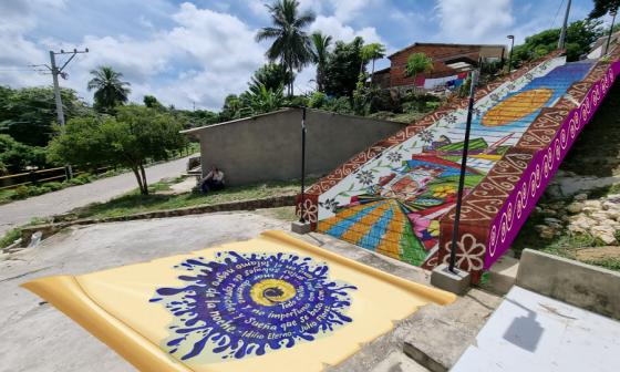 El arte como herramienta que fortalece el turismo en Usiacurí