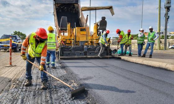 """""""Obras en la malla vial de Cartagena avanzan a buen ritmo"""": Distrito"""