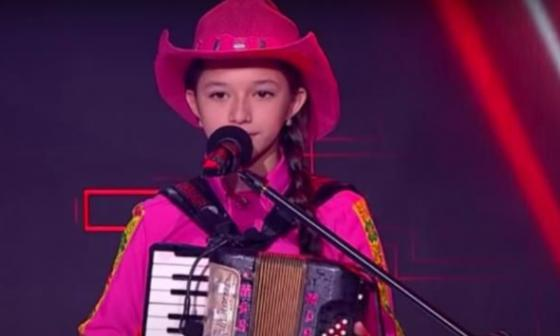 La soledeña María Liz Patiño es finalista de La Voz Kids