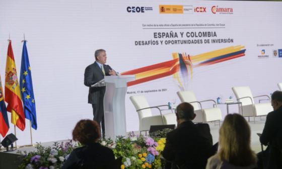Se materializaron inversiones españolas en Colombia por $7,4 billones