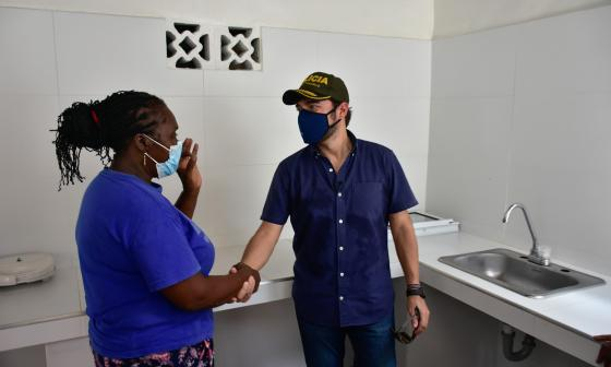 'San Pachito' se beneficia con mejoras en viviendas