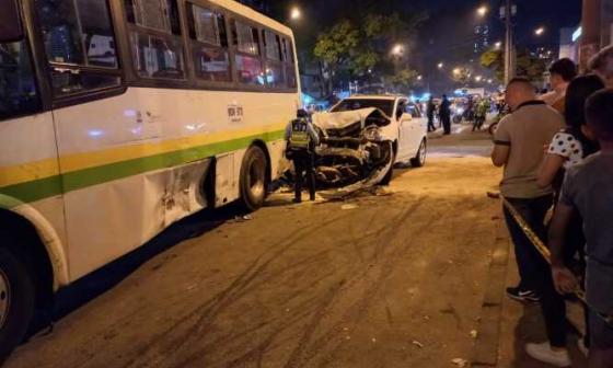 Conductor ebrio habría dejado 3 heridos en Medellín