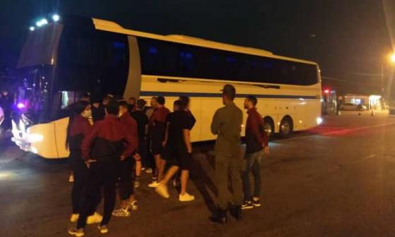 Tirotean el bus del Carabobo FC a su regreso de un partido de liga venezolana