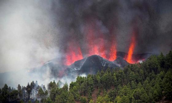 La UE ofrece ayuda a España para seguir evolución del volcán en La Palma