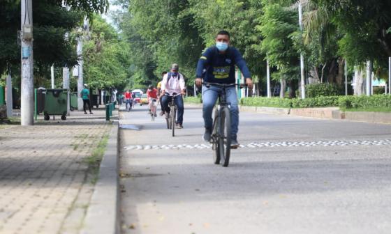 Día sin carros redujo la circulación de vehículos en Montería