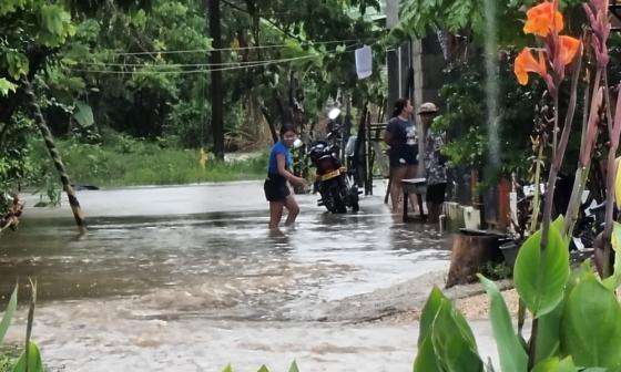 Emergencia en Coveñas por temporada de lluvias