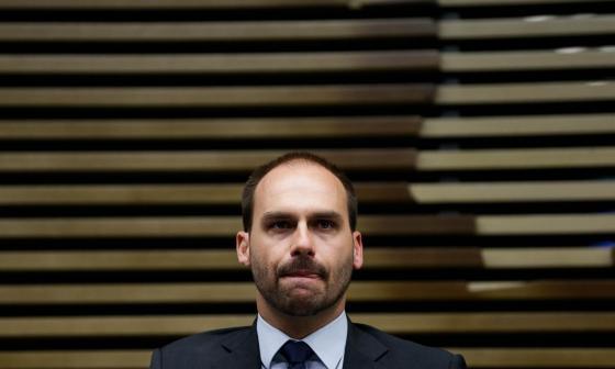 Hijo de Bolsonaro da positivo para covid-19 tras volver de evento de la ONU
