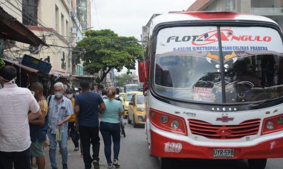 Levantan bloqueos en nevadas y vías del área metropolitana de Barranquilla