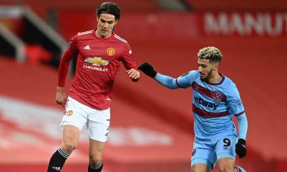 Edinson Cavani vuelve a la convocatoria del United