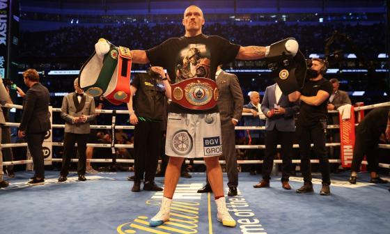 Olek Usyk venció a Anthony Joshua y es nuevo campeón del peso pesado del boxeo