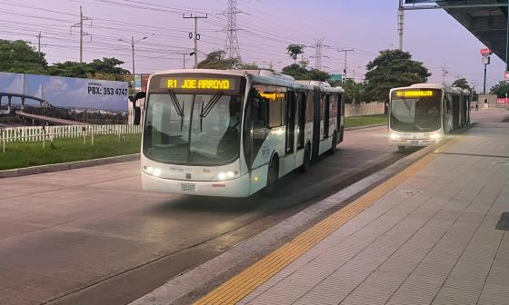 Transmetro opera con normalidad a esta hora en Barranquilla