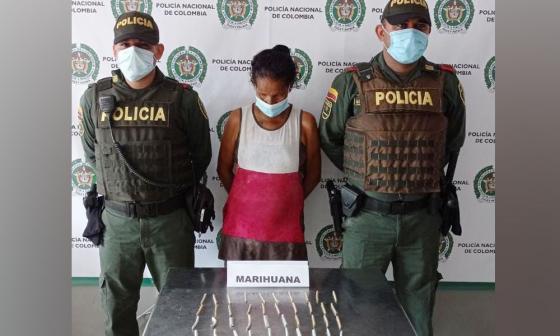 Intentó ingresar 40 cigarrillos de marihuana a estación de Policía