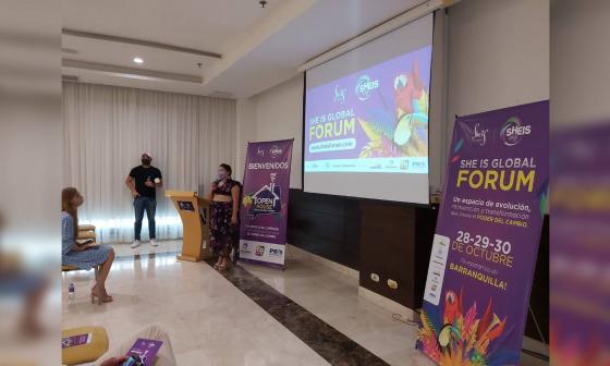 'Forum She Is' llega a Barranquilla en octubre