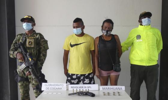 Capturados alias Brayan y Aracelis de los Pachenca