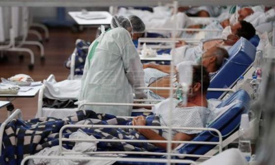 Muertes por covid en Brasil superan las 60.000