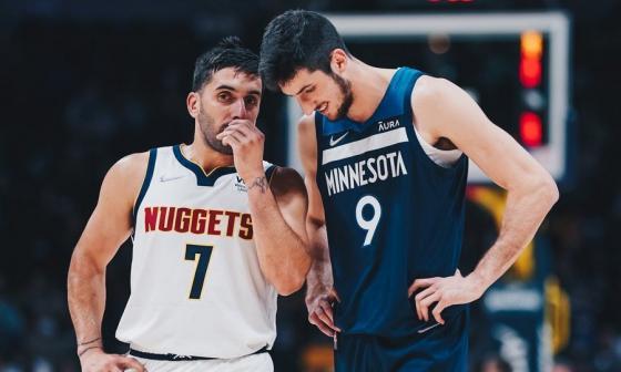 Jugadores latinos en la NBA