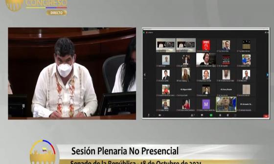 Senado citó votación del último debate del Presupuesto 2022 para este martes