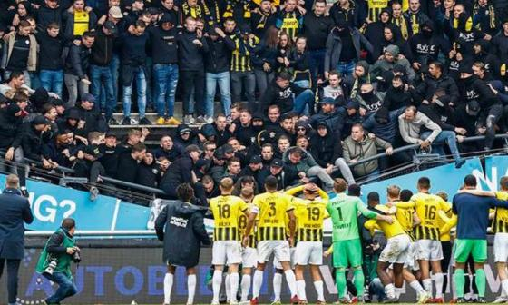 Cierran el estadio neerlandés que sufrió el derrumbe de una grada