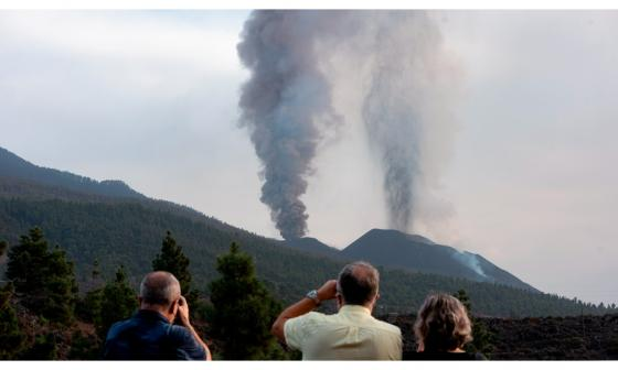 La erupción del volcán de La Palma cumple un mes con 763 hectáreas afectadas